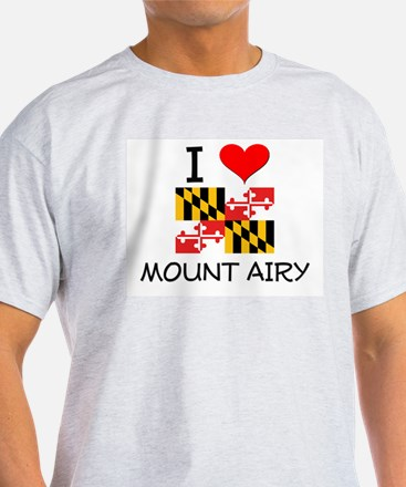 I Love Mount Airy Maryland T-Shirt