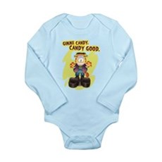 Garfield Gimme Candy Long Sleeve Infant Bodysuit