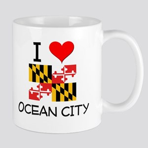 I Love Ocean City Maryland Mugs