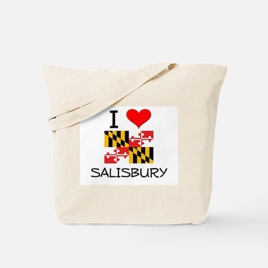 I Love Salisbury Maryland Tote Bag