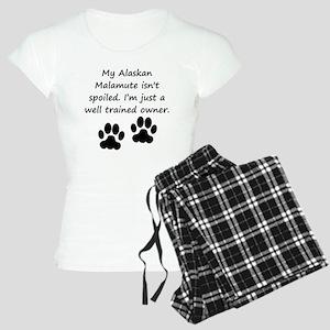 Well Trained Alaskan Malamute Owner Pajamas