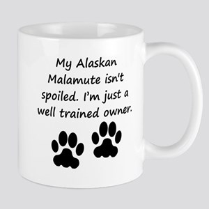 Well Trained Alaskan Malamute Owner Mugs