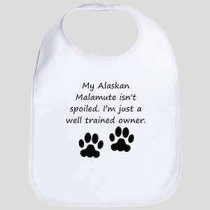 Well Trained Alaskan Malamute Owner Bib