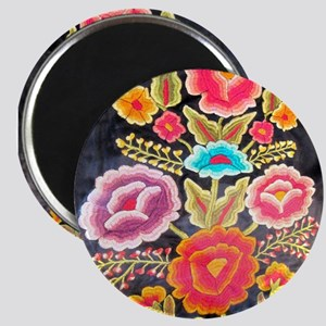 Mexican Embroidery Design Magnet