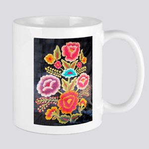 Mexican Embroidery Design Mug