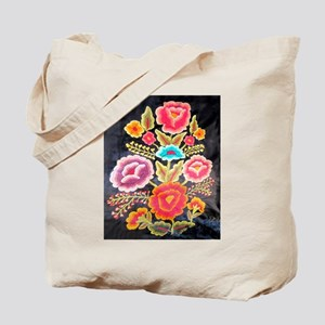 Mexican Embroidery Design Tote Bag