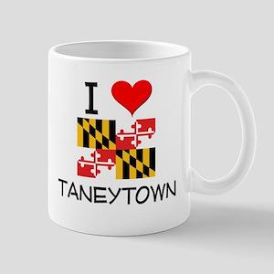 I Love Taneytown Maryland Mugs