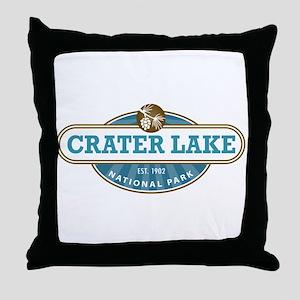 Crater lake National Park Throw Pillow