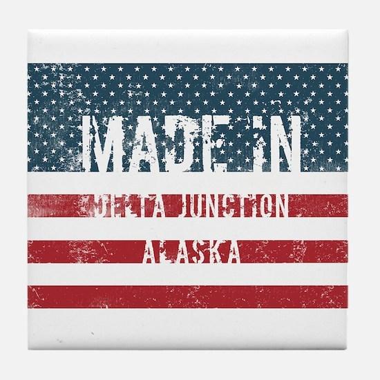 Made in Delta Junction, Alaska Tile Coaster