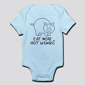 Eat More Hot Wings Body Suit