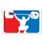 WEIGHTLIFTING Rectangle Sticker