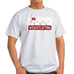 WEIGHTLIFTING Ash Grey T-Shirt