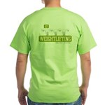 WEIGHTLIFTING Green T-Shirt