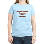 Fantasy Football Champion of the Universe T-Shirt