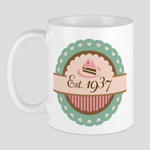 1937 Birth Year Birthday Mug