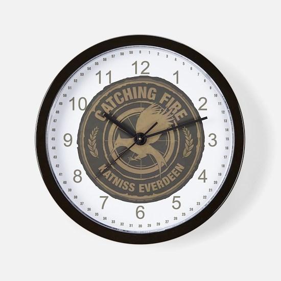 Catching Fire Katniss Everdeen Wall Clock