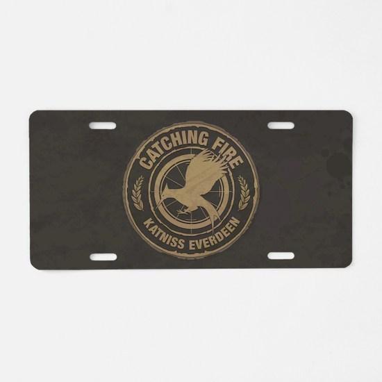 Catching Fire Katniss Everdeen Aluminum License Pl