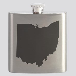 Black Ohio Flask