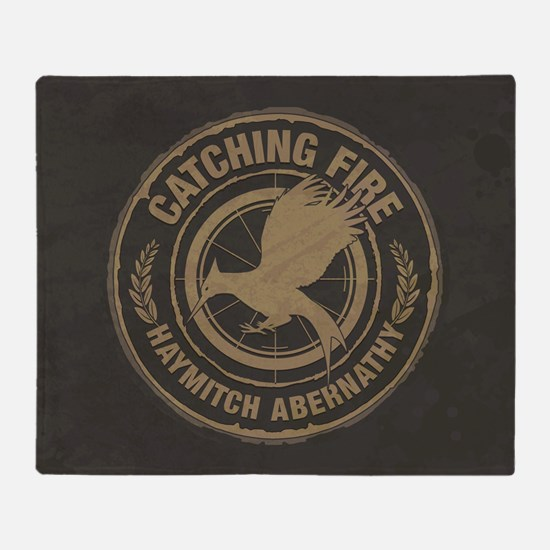 Catching Fire Haymitch Abernathy Throw Blanket