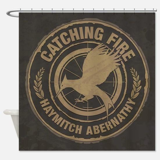Catching Fire Haymitch Abernathy Shower Curtain