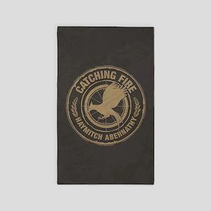 Catching Fire Haymitch Abernathy 3'x5' Area Rug