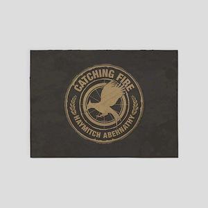 Catching Fire Haymitch Abernathy 5'x7'Area Rug