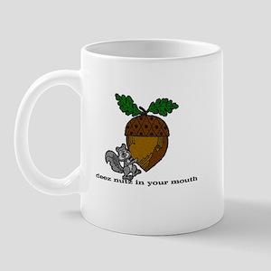 Deez Nutz Large Mug