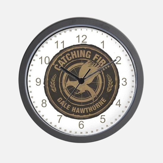 Catching Fire Gale Hawthorne Wall Clock