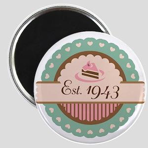 1943 Birth Year Birthday Magnet