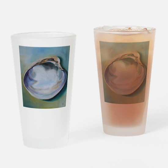 Clam Shell Drinking Glass