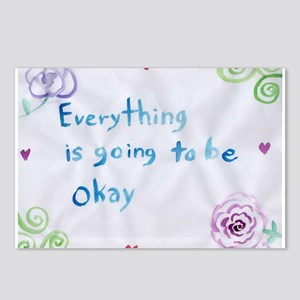 Everything is Going to Be Alright Postcards (Packa