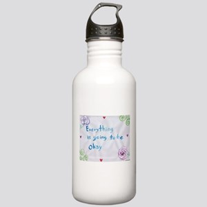 Everything is Going to Be Alright Water Bottle