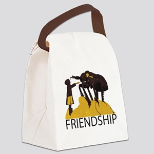 Friendship Canvas Lunch Bag
