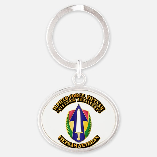 Army - II Field Force, Vietnam Oval Keychain