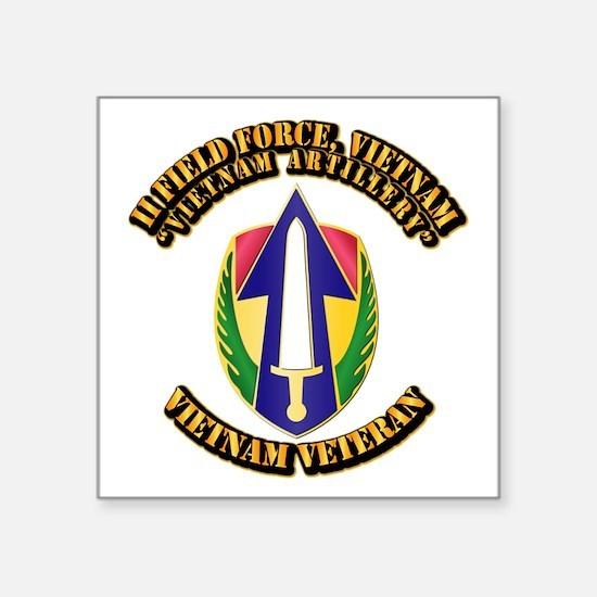 "Army - II Field Force, Vietnam Square Sticker 3"" x"