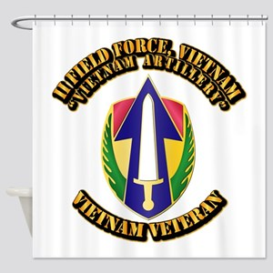 Army - II Field Force, Vietnam Shower Curtain