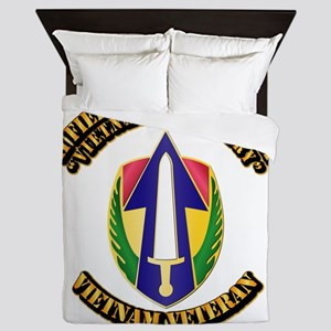 Army - II Field Force, Vietnam Queen Duvet