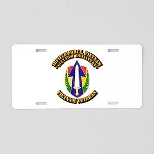 Army - II Field Force, Vietnam Aluminum License Pl