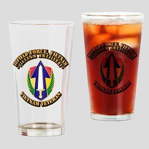 Army - II Field Force, Vietnam Drinking Glass