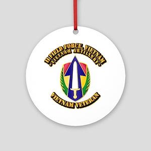 Army - II Field Force, Vietnam Ornament (Round)