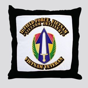 Army - II Field Force, Vietnam Throw Pillow