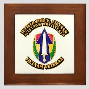 Army - II Field Force, Vietnam Framed Tile