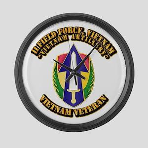 Army - II Field Force, Vietnam Large Wall Clock