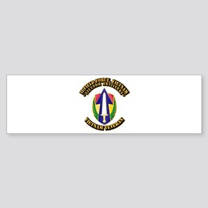 Army - II Field Force, Vietnam Sticker (Bumper)