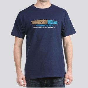 Thanksgivukkah Dark T-Shirt