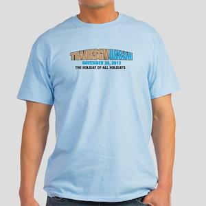 Thanksgivukkah Light T-Shirt