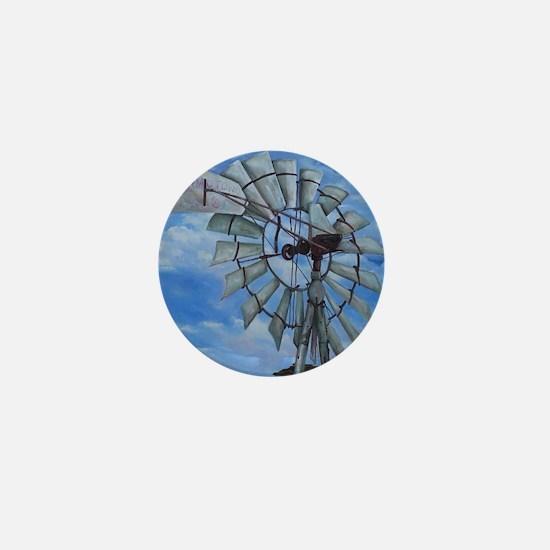 Aermotor Windmill Mini Button