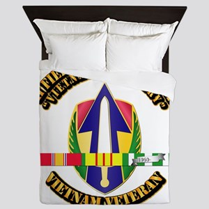 Army - II Field Force, Vn w SVC Ribbon Queen Duvet