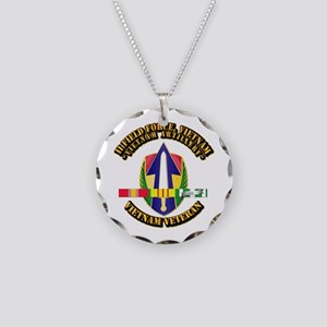 Army - II Field Force, Vn w SVC Ribbon Necklace Ci