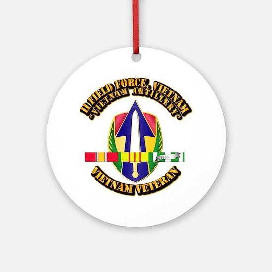 Army - II Field Force, Vn w SVC Ribbon Ornament (R